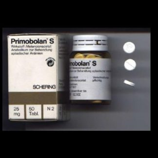 Primobolan S by Schering 25mg x 50 tablets