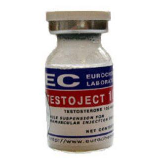 Testoject 100 by Eurochem 100mg/ml 10ml vial