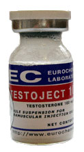 Testoject 100 by Eurochem 100mg/ml 10ml vial