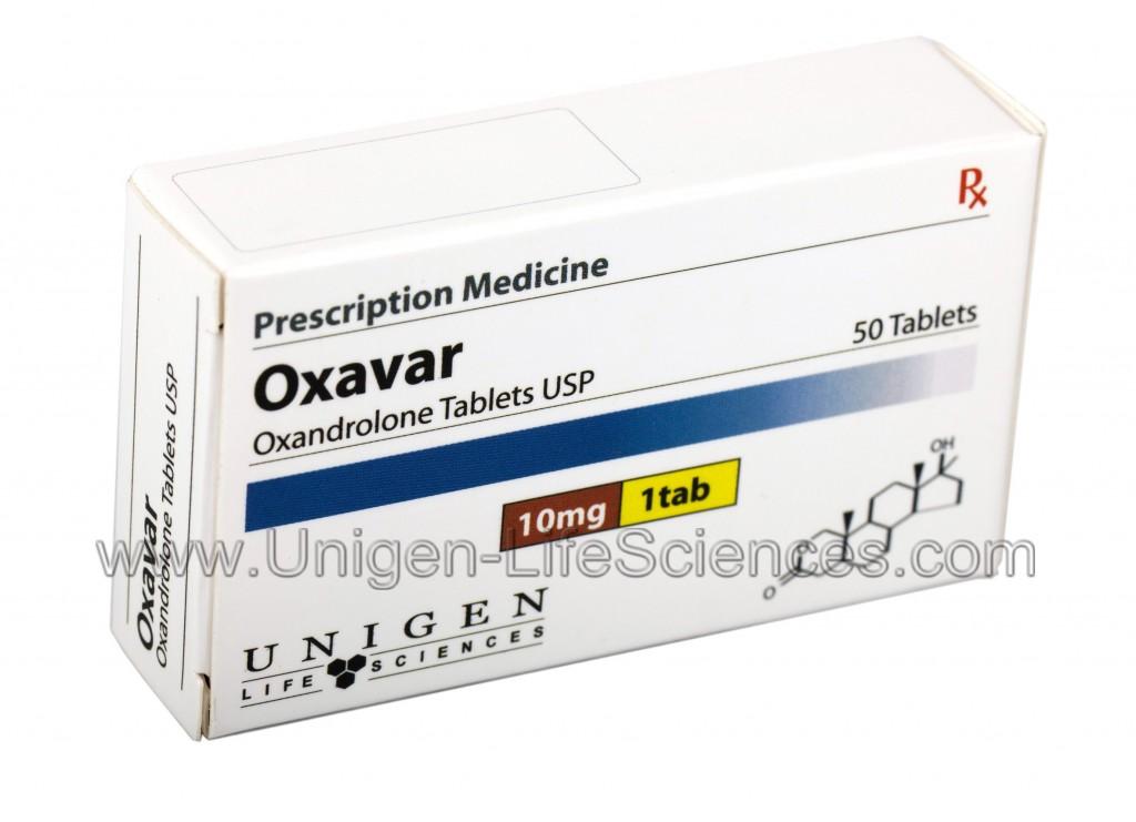 Oxavar 10 - Oxandrolone 10mg x 50 tablets