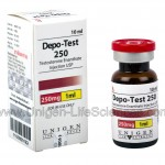Depo-Test 250 by Unigen Life Sciences 250mg x 10ml vial