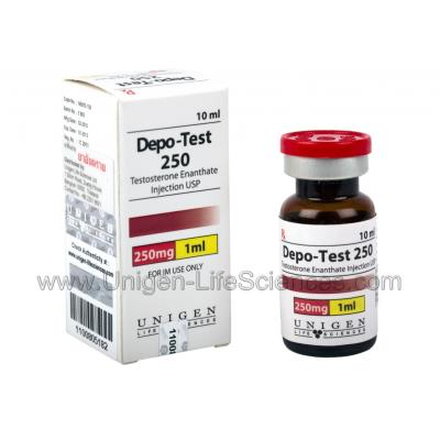 Injectable anabolic steroid Depo-Test – to produce body mass
