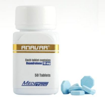 Anavar by Meditech Pharma 10mg x 50 tablets