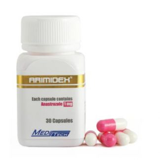 Arimidex by Meditech Pharma 1mg x 30 capsules