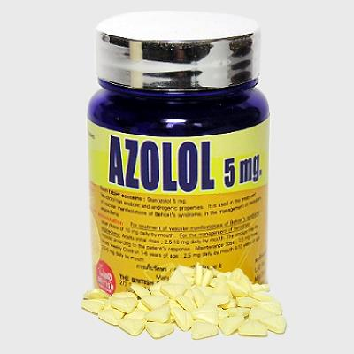 Azolol by British Dispensary 5mg x 400 tablets