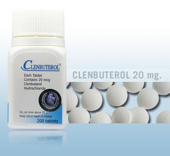 Clenbuterol by La Pharma 20mcg x 200 tablets