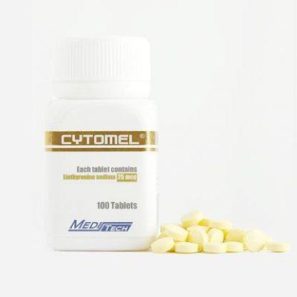 Cytomel by Meditech Pharma 25mcg x 100 tablets
