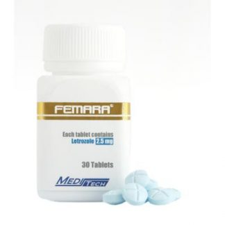 Femara by Meditech Pharma 2.5mg x 30 tablets