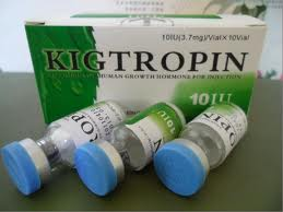 KIGTROPIN RECUMBANT HUMAN GROWTH HORMONE 100 IU KIT