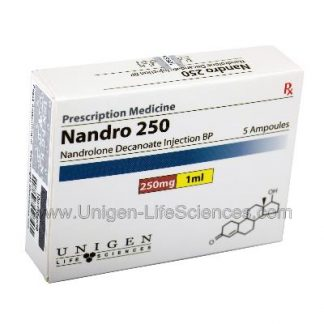 Nandro 250 - 250mg/1ml X 5 amps by Unigen Life Sciences