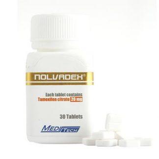 Nolvadex by Meditech Pharma 20mg x 30 tablets