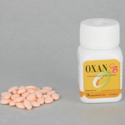 Oxan SB by SB Labs 10mg x 50 tablets