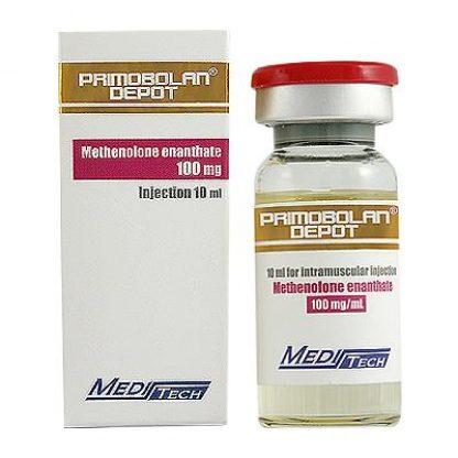 Primobolan Depot by Meditech Pharma 100mg/ml in 10ml vial