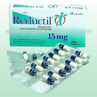 Reducil by Abbott Laboratories 15mg x 28 capsules