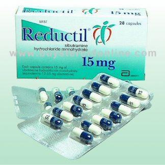 Reducil by Abbott Laboratories 15mg x 28 capsules