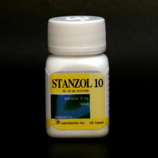 Stanzol 10 by SB Labs 10mg x 100 tablets