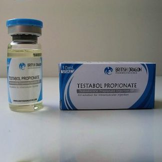 Testabol Propionate by British Dragon 100mg/ml in 10ml vial