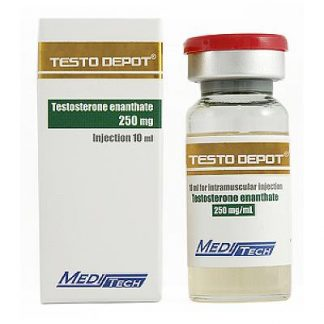 Testo Depot by Meditech Pharma 250mg/ml in 10ml vial