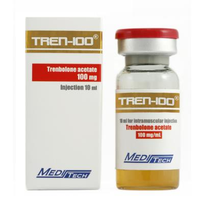 Tren-100 by Meditech Pharma 100mg/ml in 10ml vial