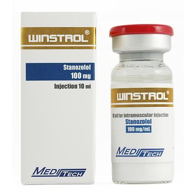Winstrol by Meditech Pharma 100mg/ml in 10ml vial