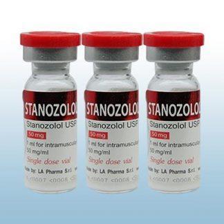 Stanozolol by LA Pharma 50mg/ml in 1ml x 3 amps