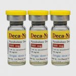 Injectable anabolic steroid Deca-Nan vial – to produce solid body mass